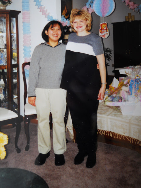 Rebecca and Kari 1999