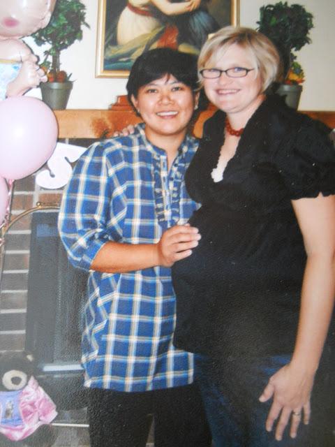 Rebecca and Kari 2007