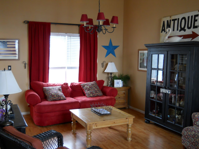 living room/peanut butter paint behr