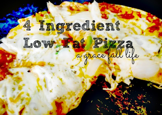Four Ingredient Low Fat Pizza