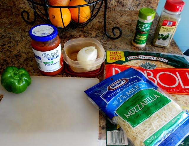 Low fat pizza ingredients