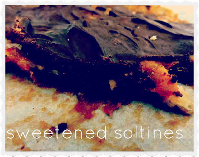 Sweetened Saltines