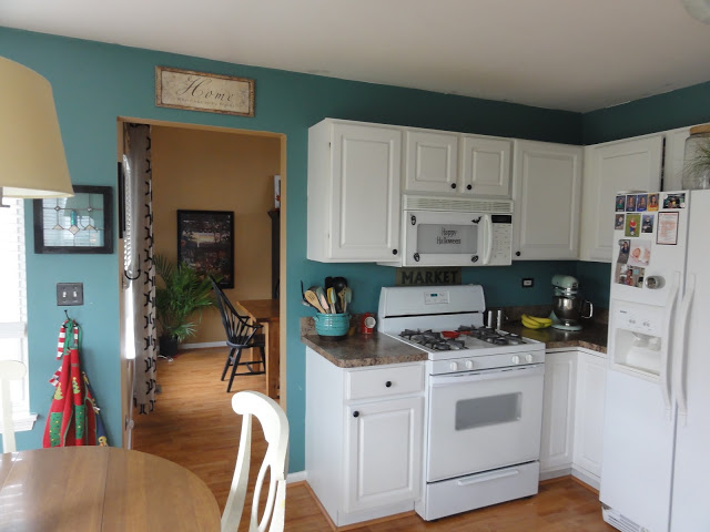 I have wanted to paint this kitchen many times over the years.