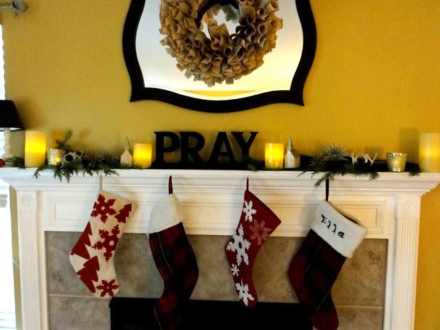 I see the stocking turned around.