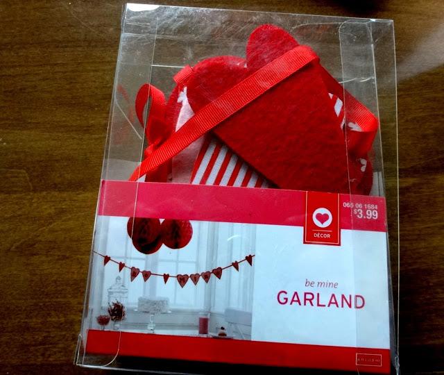 Felt Valentine garland!