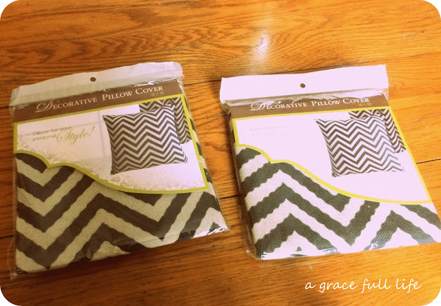 """Decorative pillow cases. Or as people who don't sew call it, something I can """"sew""""!!!!"""