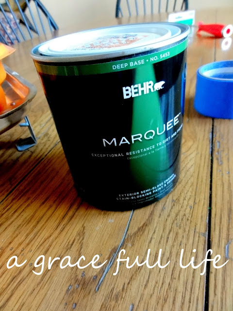 Marquee paint by Behr