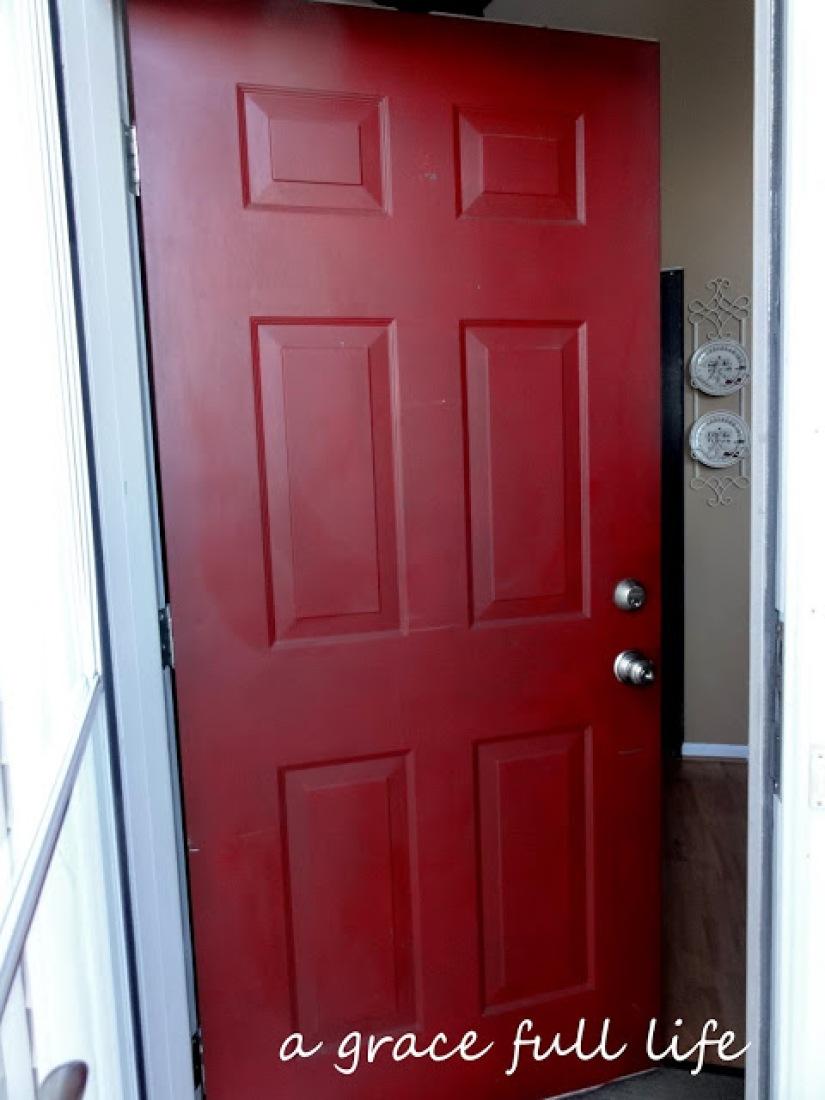 Front exterior door