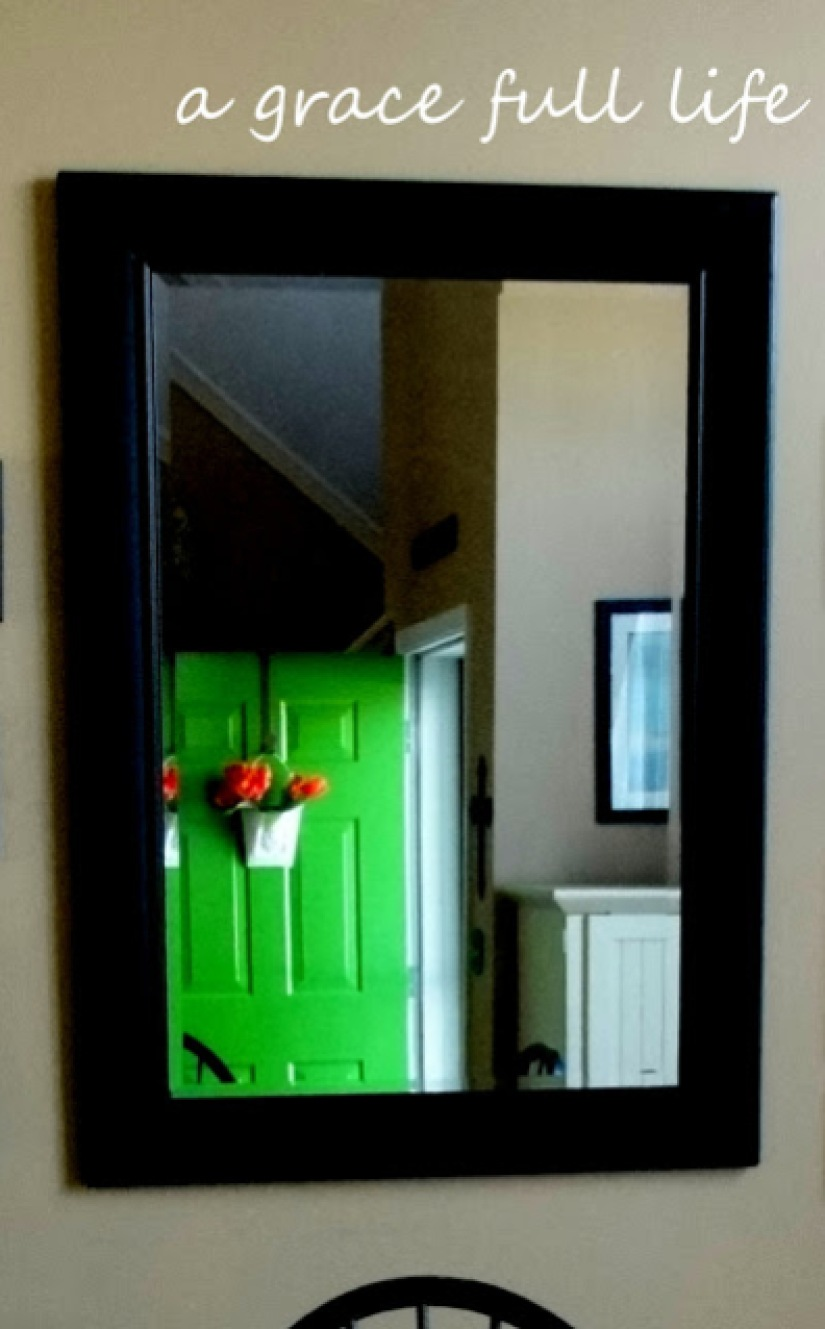 Our new green front door