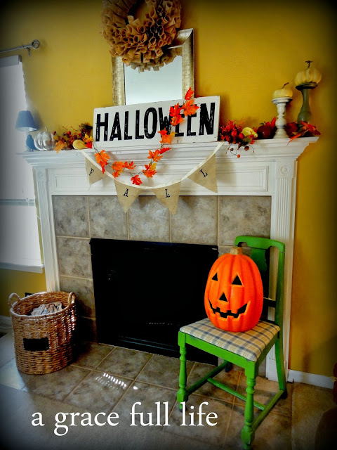 Halloween Mantel Tutorial