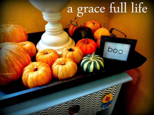 My little Fall Vignette