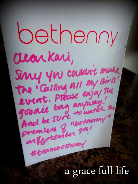 Note from Bethenny's people