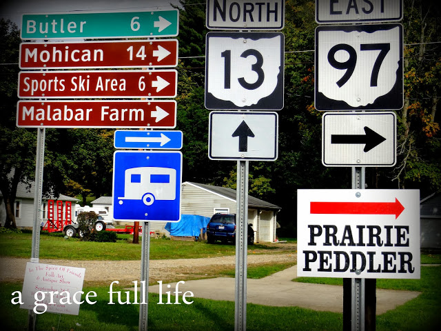 Signs in Bellville Ohio