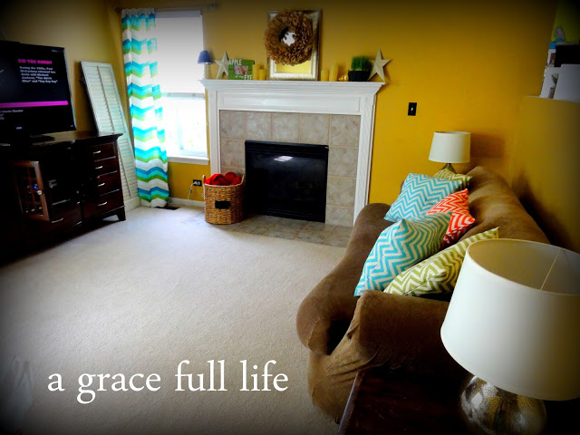 It was so easy to create this new couch with our slipcover
