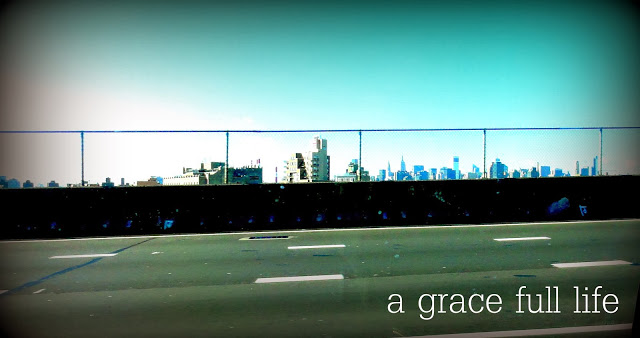 NYC from the highway
