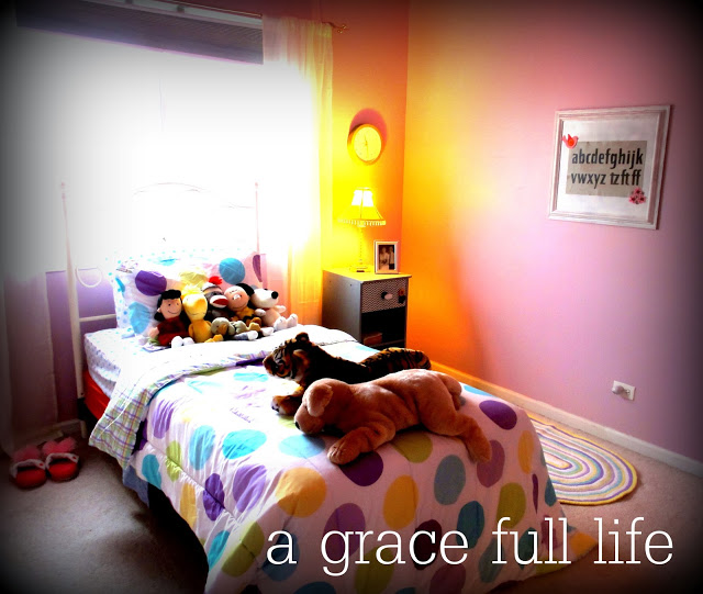 Sweet little girl room makeover