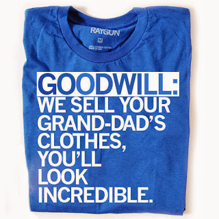 Goodwill shirt by Raygun