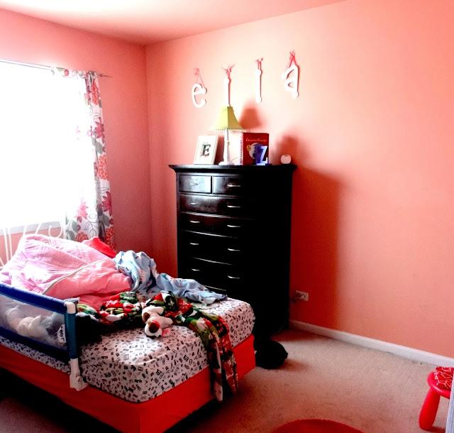 Ella little girl room before
