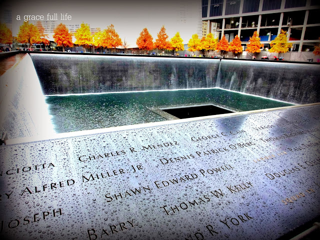 The hallowed 9/11 memorial