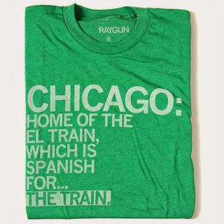 Chicago shirt by Raygun