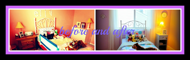 Little Girl Room Before and After