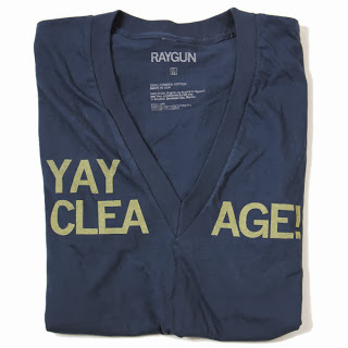 Cleavage shirt by Raygun