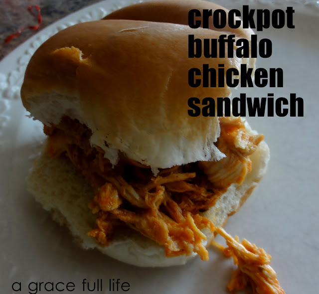 Favorite post of year- Crockpot Buffalo Chicken Sandwich