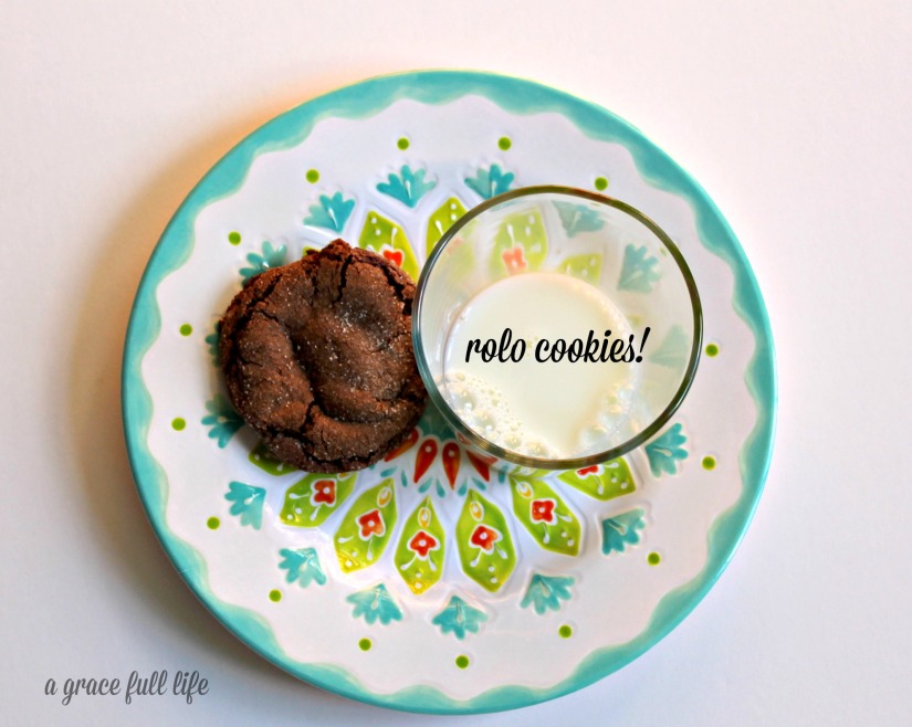 Rolo Cookies!!