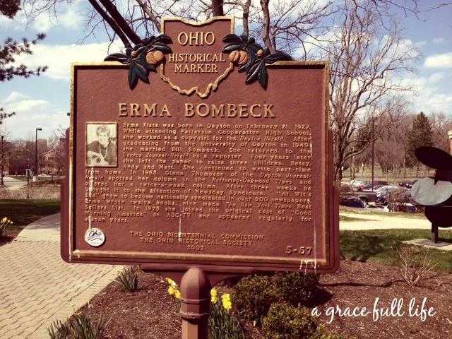 Erma Bombeck Historical Marker