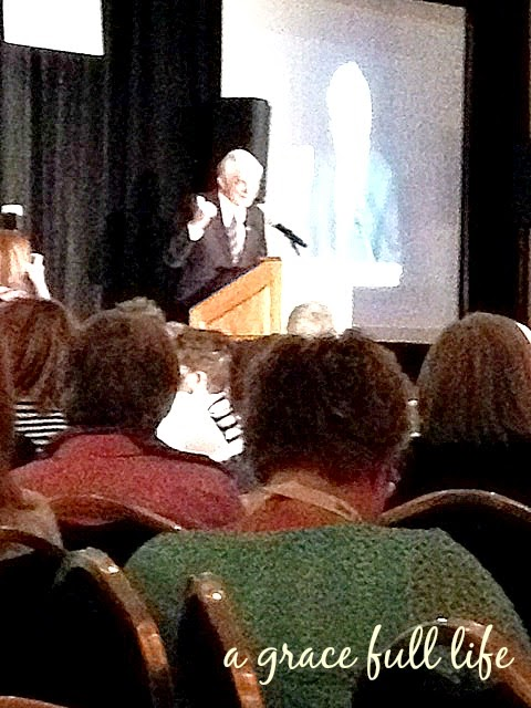 Phil Donahue at Erma Bombeck Workshop