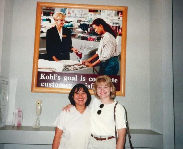 Rebecca and I at Kohl's