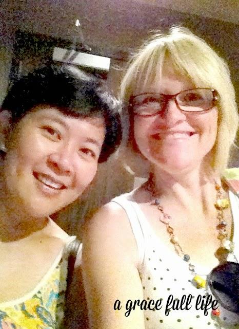 Rebecca and Kari Food Tour selfie