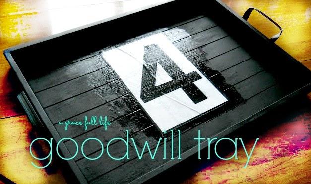 Goodwill Tray