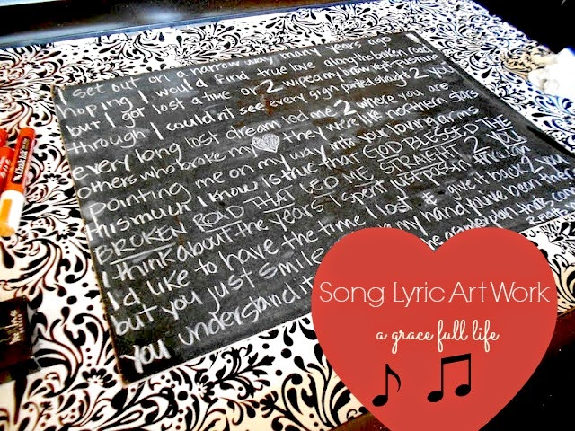 Goodwill Song Lyric Art Work