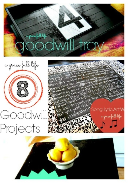 My 8 Favorite Goodwill Projects