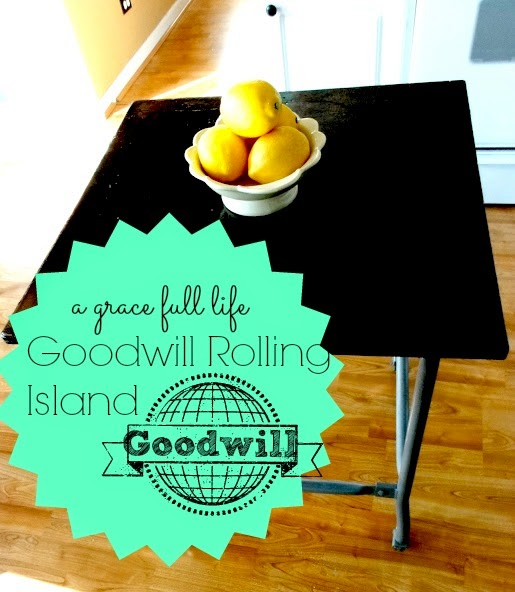 Goodwill Kitchen Island