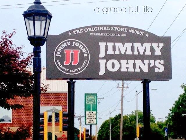 The original Jimmy John's in Charleston, Illinois