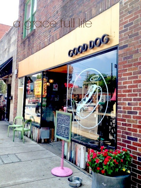 Good Dog restaurant Chattanooga Tennessee