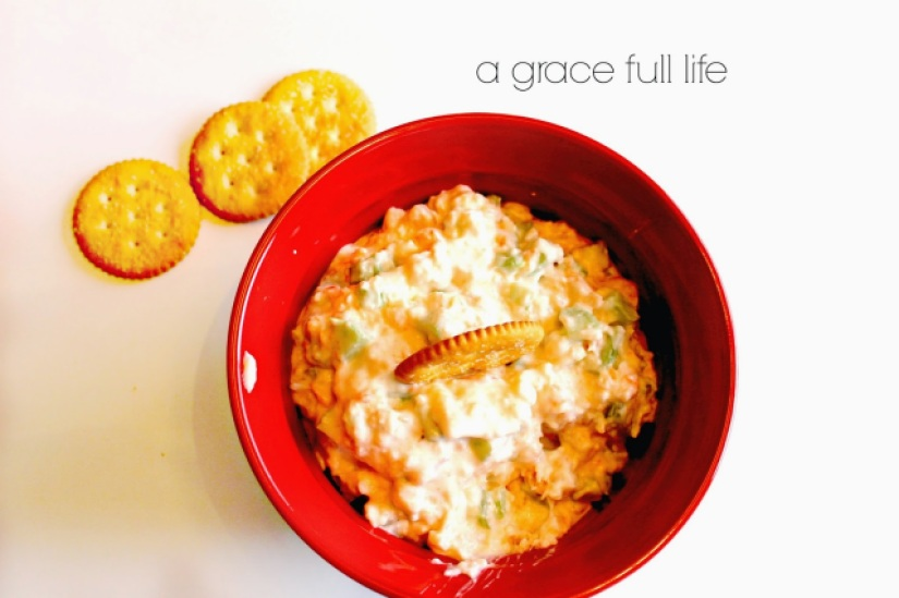 This simple to make Shrimp Dip will be the hit of the party!