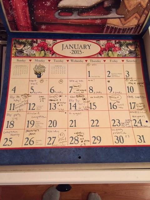 pain calendar