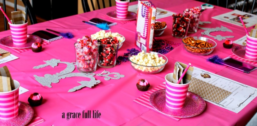 fun Netflix inspired girls party