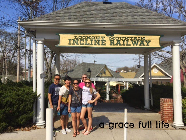 Incline Railway Chattanooga Spring Break