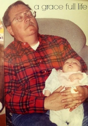 Grampa and Anna sleeping