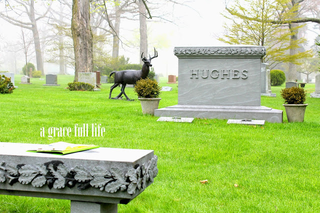 John Hughes grave site in beautiful Lake Forest