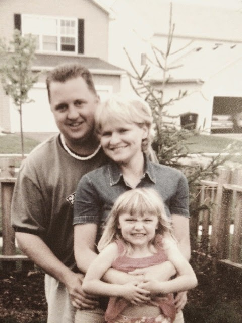 Mike, Anna and I 2005