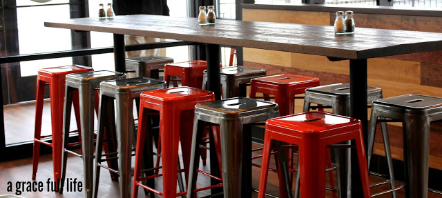 cool red stool Go Roma