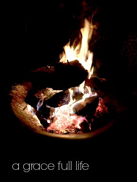 bonfire in Lexington Ohio