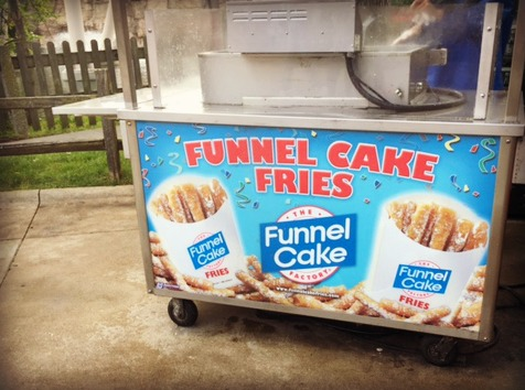 Funnel Cake Fries Cedar Point