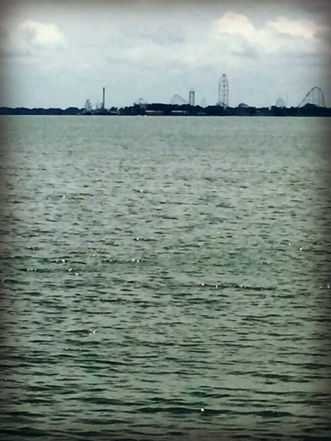 Cedar Point from afar