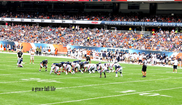 Chicago Bears scrimmage